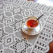 Для дома и интерьера handmade. Livemaster - original item Tablecloth crocheted