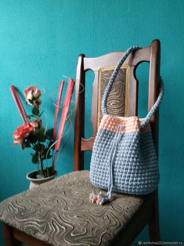 Серая сумка- торба, Сумка-торба, Краснодар,  Фото №1