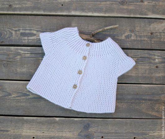 Одежда для девочек, ручной работы. Ярмарка Мастеров - ручная работа. Купить Кофточка для новорожденной девочки. Handmade. Кофта, Кофточка вязаная