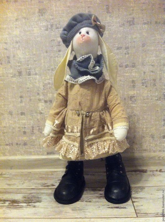Куклы Тильды ручной работы. Ярмарка Мастеров - ручная работа. Купить Коллекционная кукла тильда. Handmade. Зайцы тильда, хлопок