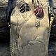 Женские сумки ручной работы. Заказать Сумка Лесная. Мастерская ГришЛАНдия (grishlandia). Ярмарка Мастеров. Лесная тема, кожа натуральная