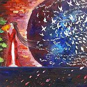 Картины и панно handmade. Livemaster - original item Oil painting - fantasy. Handmade.