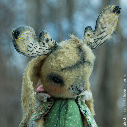Мишки Тедди ручной работы. Ярмарка Мастеров - ручная работа. Купить Франсина. Handmade. Салатовый, лесной житель, лось, заяц