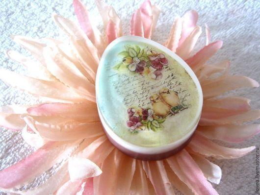 """Мыло ручной работы. Ярмарка Мастеров - ручная работа. Купить Мыло """"Пасхальное яйцо"""" №4, нежный, пастель, розовый, пасхальные яйца. Handmade."""