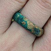 Украшения ручной работы. Ярмарка Мастеров - ручная работа кольцо из дерева. Handmade.