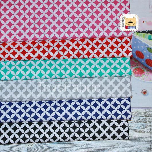 Шитье ручной работы. Ярмарка Мастеров - ручная работа. Купить Ткань польский  хлопок Орнамент 6 цветов. Handmade.