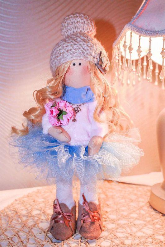 Коллекционные куклы ручной работы. Ярмарка Мастеров - ручная работа. Купить Интерьерная кукла Зефирка. Handmade. Кукла ручной работы