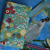 Канцелярские товары handmade. Livemaster - original item Book cover of