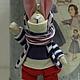 Куклы Тильды ручной работы. Ярмарка Мастеров - ручная работа. Купить Мини-зайка Чук. Handmade. Зайка, миниатюра, хлопок