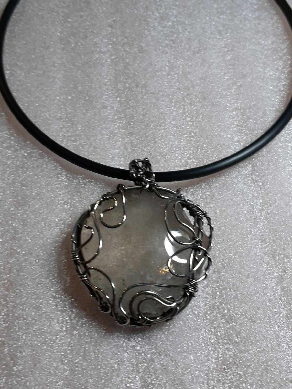 Large quartz pendant, Pendants, Voronezh,  Фото №1