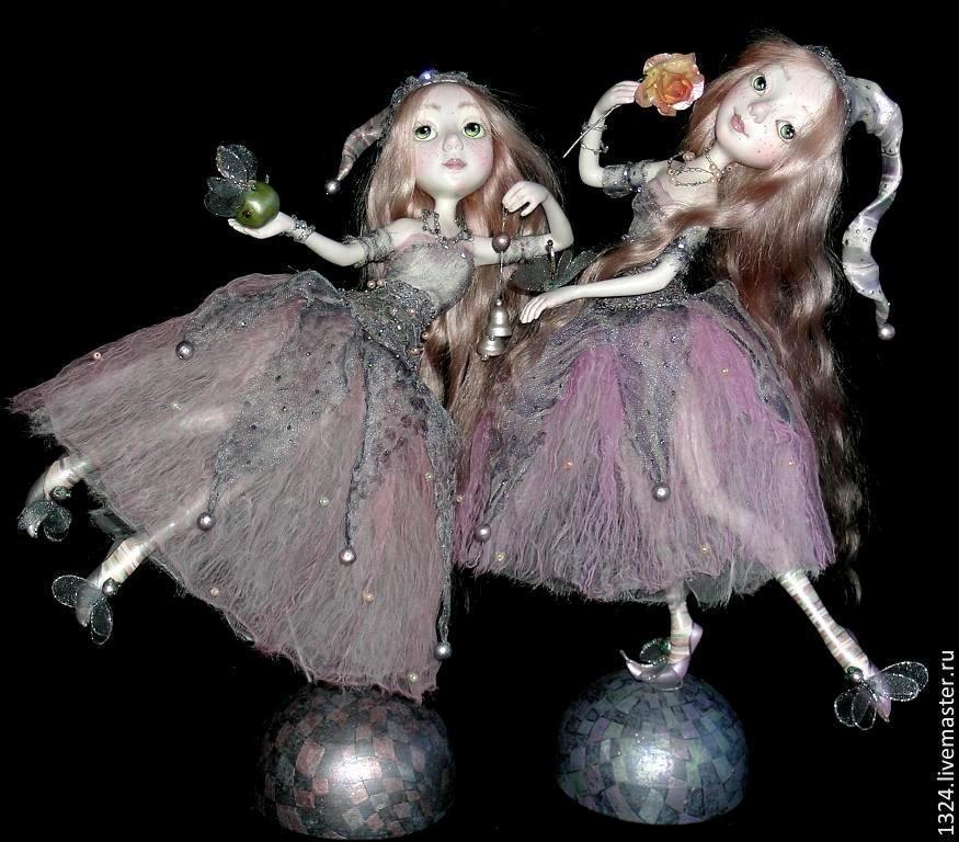 Кукла ручной работы полимерная глина213