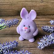 Косметика ручной работы handmade. Livemaster - original item Gift soap Lavender Bunny. Handmade.