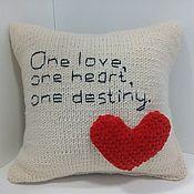 Наволочки ручной работы. Ярмарка Мастеров - ручная работа Наволочка на диванную подушку. Handmade.