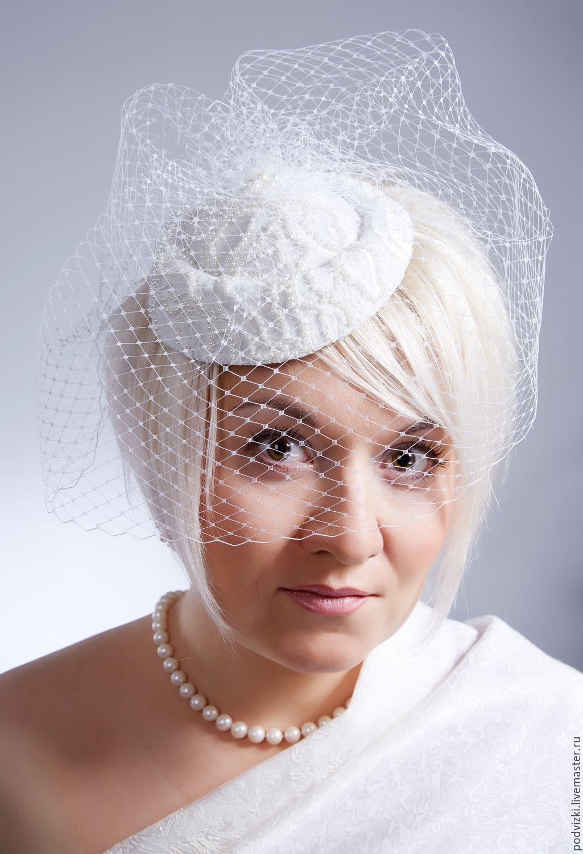 Шляпки для невест своими руками 403