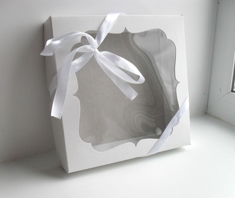 Картон коробочка в подарок 85