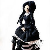 Куклы и пупсы ручной работы. Ярмарка Мастеров - ручная работа Авторская кукла. Уэнсдэй Аддамс.. Handmade.
