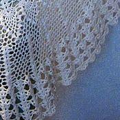 """Аксессуары handmade. Livemaster - original item Shawl knitted """"Lacy"""". Handmade."""