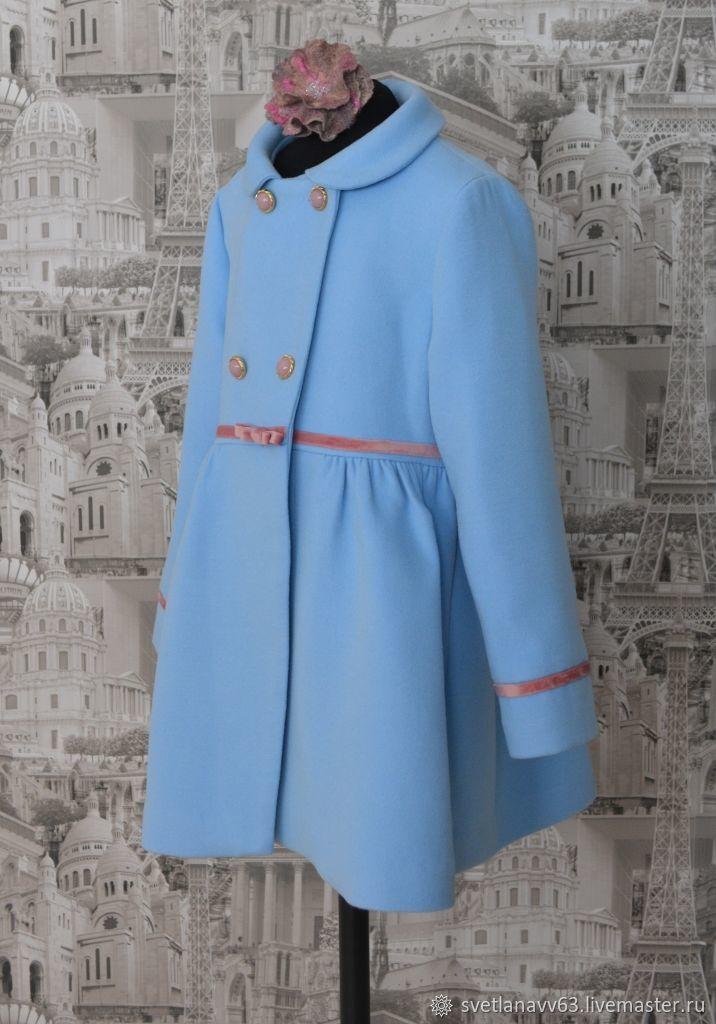 Детское пальто Весеннее настроение