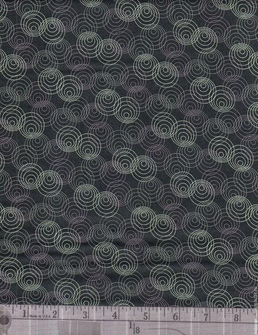 Шитье ручной работы. Ярмарка Мастеров - ручная работа. Купить 1178 Американская ткань. Handmade. Темно-серый, ткань с рисунком