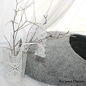 Зоотовары handmade. Livemaster - original item House for cats made from sheep`s wool. Handmade.