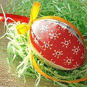 Подарки к праздникам ручной работы. Ярмарка Мастеров - ручная работа Яйцо пасхальное из ткани. Handmade.