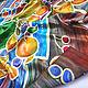 Batik, silk handkerchief ' Full bowl». Shawls1. Rudnitskaya Irina. Online shopping on My Livemaster.  Фото №2