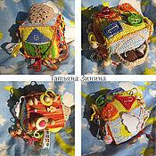 Куклы и игрушки ручной работы. Ярмарка Мастеров - ручная работа Развивающий кубик 12. Handmade.