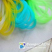 Материалы для творчества ручной работы. Ярмарка Мастеров - ручная работа Ювелирная сетка шнур 4 цвета. Handmade.