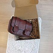 Мужская сумка ручной работы. Ярмарка Мастеров - ручная работа Сумка мужская из натуральной кожи. Handmade.