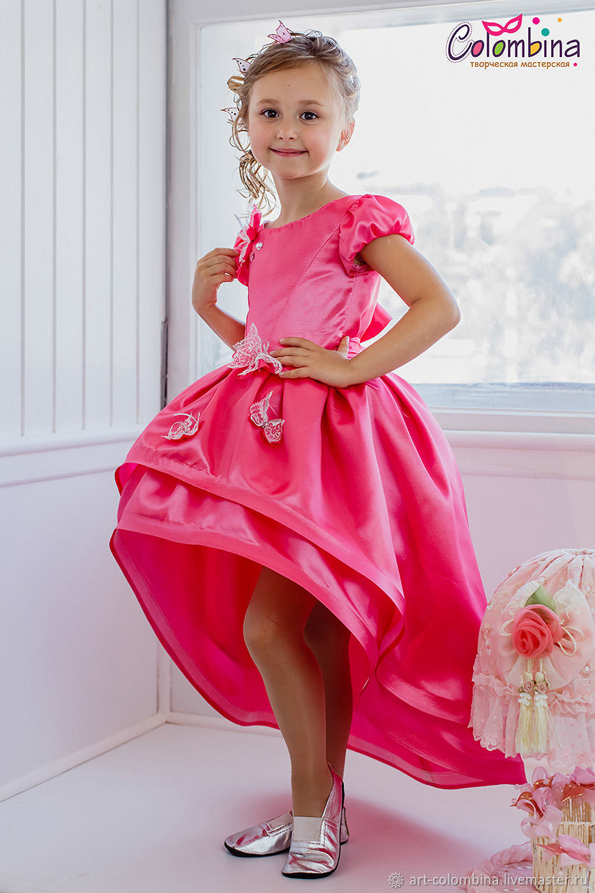 Нарядное платье для девочки-245, Платье, Донецк,  Фото №1
