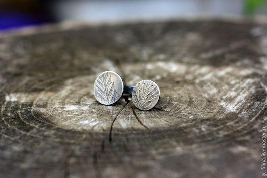 """Кольца ручной работы. Ярмарка Мастеров - ручная работа. Купить Серебряное кольцо """"Лесная печать"""". Handmade. Серебряный, кольцо из серебра"""
