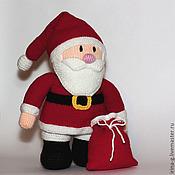 """Куклы и игрушки ручной работы. Ярмарка Мастеров - ручная работа Вязаная игрушка""""Дед мороз"""". Handmade."""