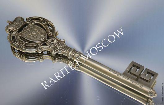 Винтажные предметы интерьера. Ярмарка Мастеров - ручная работа. Купить Ключ олово ангел корона WMF Германия 2. Handmade.