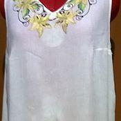 Платья ручной работы. Ярмарка Мастеров - ручная работа Вышитое платье  ЖП6-038. Handmade.
