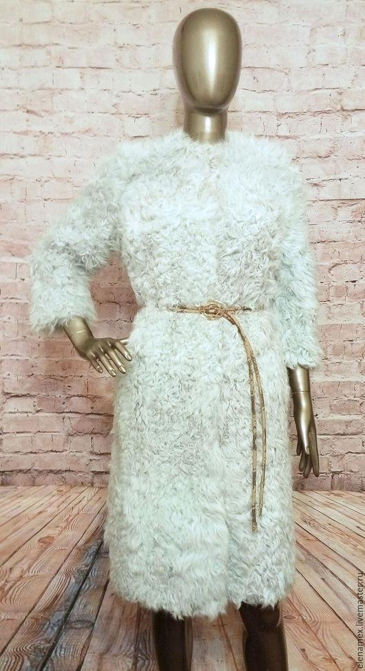 Верхняя одежда ручной работы. Ярмарка Мастеров - ручная работа. Купить Шубка из козы. Handmade. Купить шубу, верхняя одежда