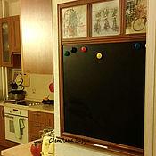 Для дома и интерьера ручной работы. Ярмарка Мастеров - ручная работа Меловая  доска на стену (на кухню, в детскую, прованс, грифельная). Handmade.
