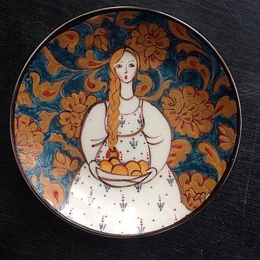 Посуда ручной работы. Ярмарка Мастеров - ручная работа Марфуша. Handmade.