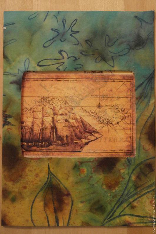 Открытки на все случаи жизни ручной работы. Ярмарка Мастеров - ручная работа. Купить Следуя за кораблем. Handmade. Морская волна