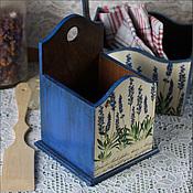"""Для дома и интерьера ручной работы. Ярмарка Мастеров - ручная работа Короб для кухни  """" Синий"""". Handmade."""