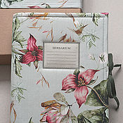 Канцелярские товары handmade. Livemaster - original item An album for the herbarium of Flowering (A4, for 20 plants). Handmade.