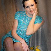 Одежда ручной работы. Ярмарка Мастеров - ручная работа Авторское кружевное платье. Handmade.