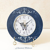 Для дома и интерьера ручной работы. Ярмарка Мастеров - ручная работа Часы Batterfly. Handmade.