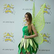 Одежда handmade. Livemaster - original item Tinker Bell costume (big wings). Handmade.