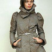 Пальто ручной работы. Ярмарка Мастеров - ручная работа Утепленный плащ-пальто. Handmade.