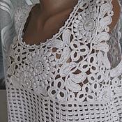 Одежда ручной работы. Ярмарка Мастеров - ручная работа Белая кофточка.. Handmade.