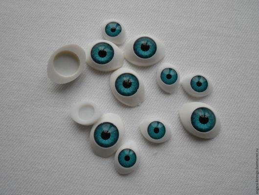 Куклы и игрушки ручной работы. Ярмарка Мастеров - ручная работа. Купить Глаза для кукол. Handmade. Голубой, голубые глазки, для игрушек