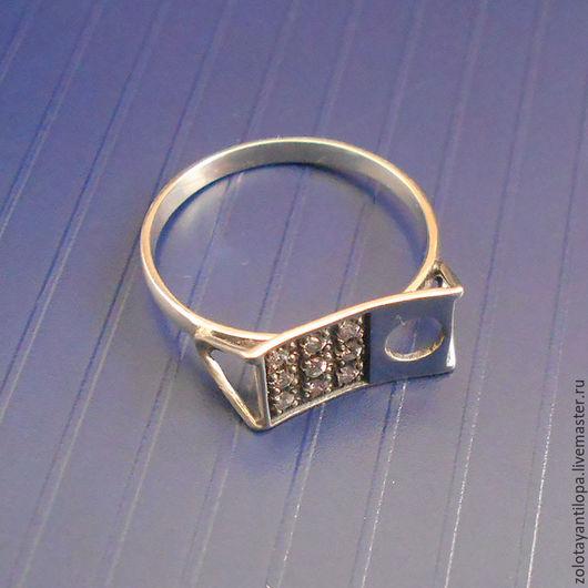 """Кольца ручной работы. Ярмарка Мастеров - ручная работа. Купить Кольцо """"Эффект"""". Handmade. Серебряный, кольцо с камнями, женское кольцо"""