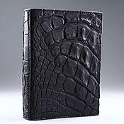 Обложки ручной работы. Ярмарка Мастеров - ручная работа Обложка на паспорт из кожи крокодила IMA0021B55. Handmade.