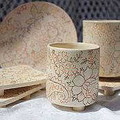 Для дома и интерьера ручной работы. Ярмарка Мастеров - ручная работа Набор для ванной Турецкий орнамент. Handmade.