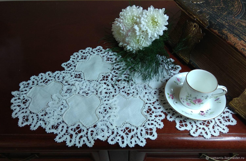 Antique doilies lace set, Vintage interior, Tel Aviv,  Фото №1